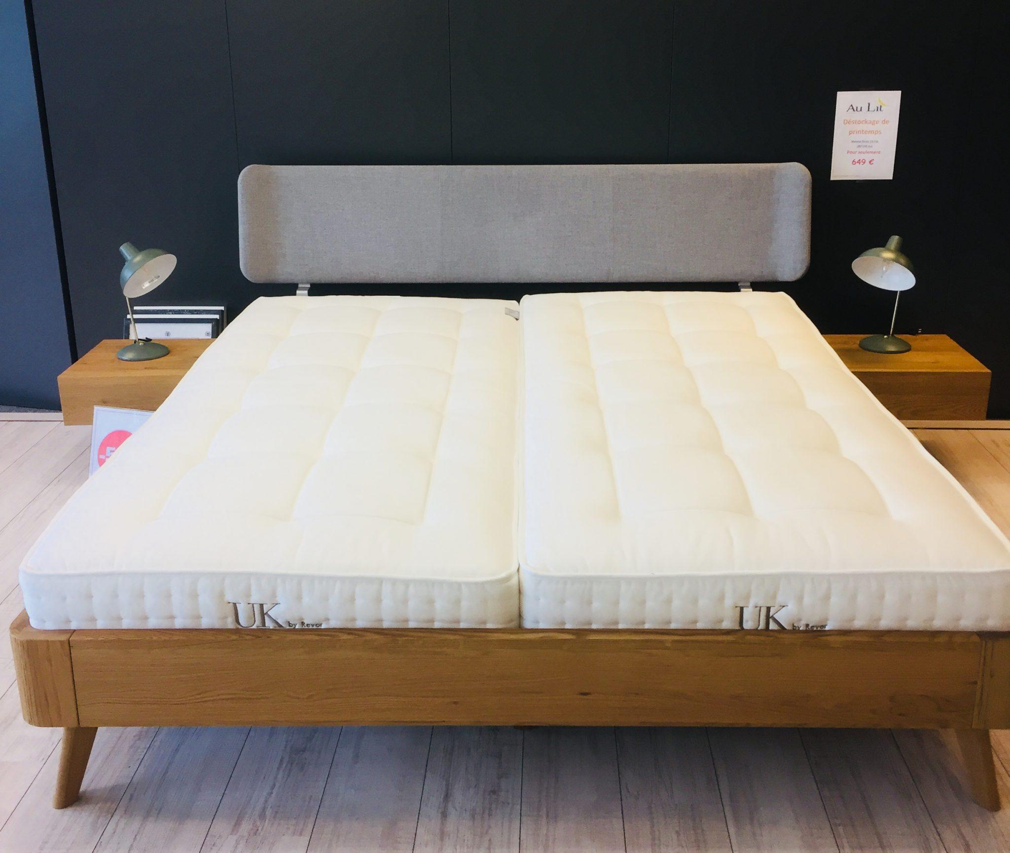 matelas revor uk 750 au lit. Black Bedroom Furniture Sets. Home Design Ideas
